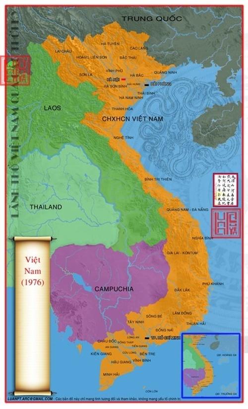 bản đồ lãnh thổ Việt Nam qua các thời kỳ 72