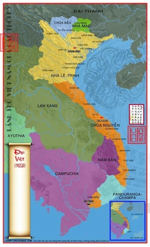 bản đồ lãnh thổ Việt Nam qua các thời kỳ 38